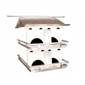 Coates Starling Resistant Purple Martin House (8 Room)