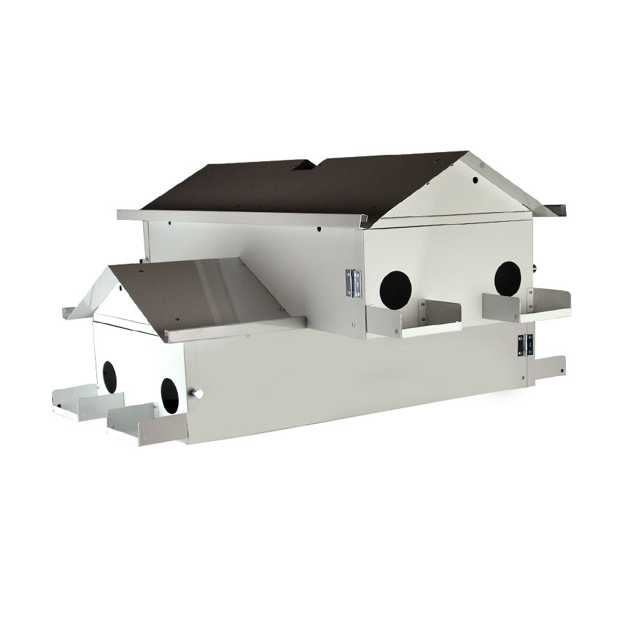 LONESTAR PURPLE MARTIN HOUSE GOLIAD JR 8 ADD A FLOOR WITH CRESCENT DOORS