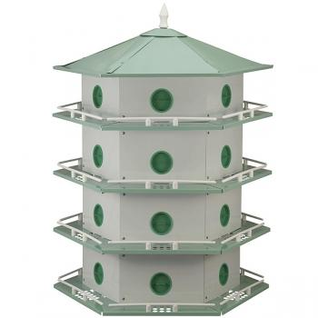 Heath Aluminum Purple Martin House (24 Room)