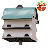 American Barn Purple Martin House - White (12 Room)