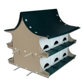PVC Cottage Purple Martin House (12 Room)
