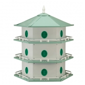 Heath Aluminum Purple Martin House (18 Room)