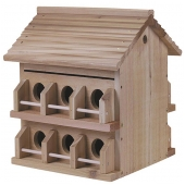 Heath Cedar Purple Martin House (12 Room)