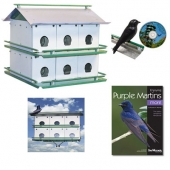 Nature House Pioneer Purple Martin House (12 Room)