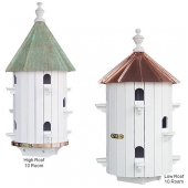 Copper Top Round Purple Martin House (10 Room)